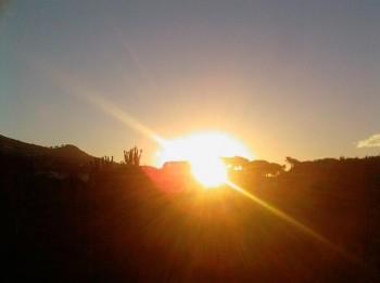 L'alba del 15 agosto 2008 a Malaga