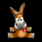 Logo di Emule. Celebre software per il p2p